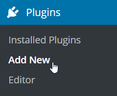 Add New Plugin